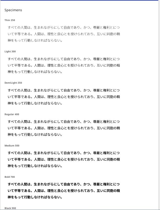 Google Notoフォント(源ノ明朝、源ノ角ゴシック)をインストールして