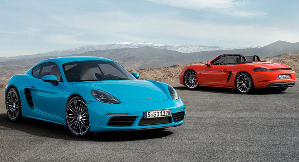 Porsche Offering Detuned 718 Boxster and Cayman Variants in China