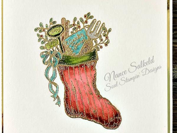 CAS Christmas - Stocking Reminder