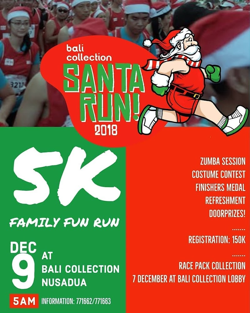 Bali Collection Santa Run • 2018