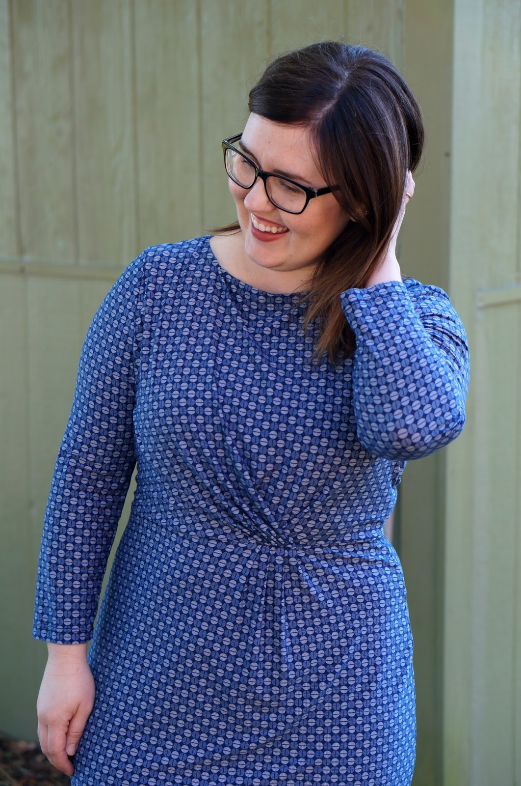 Rebecca Lately Stitch Fix Gilli Viola Jersey Dress