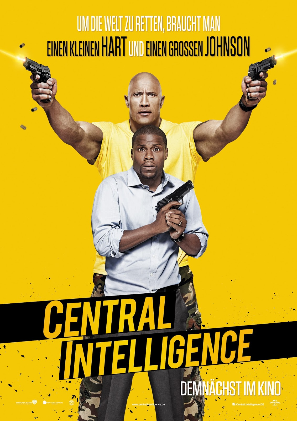 Thoughts On Central Intelligence Comedy And The Hyperbole