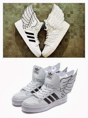 cff3295433eb Graceful Adidas Originals Jeremy Scott x JS Wings 2.0 Black White