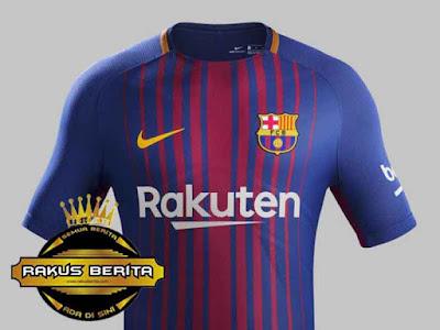 Jersey Barcelona Terbaru Musim 2017/18