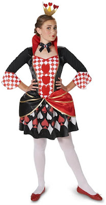 Queen Of Hearts Costume for Halloween at Spicylegs.com