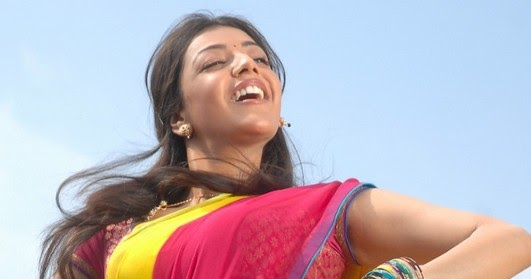Actress Stills: Kajal Agarwal In Saree Stills