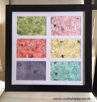 Between the Lines Home Decor Project, Stampin' Up!