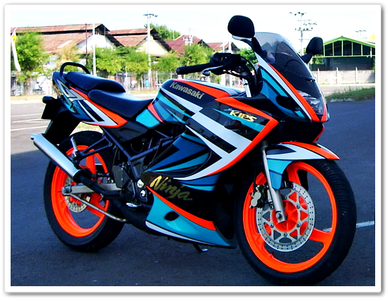 Motif Cutting Sticker Motor Trendy 2015