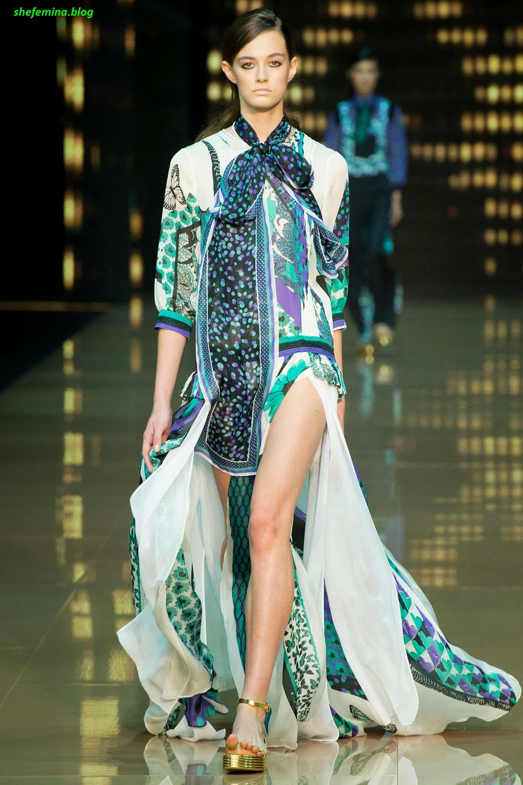 Just Wear Trainers Spring Summer: Just Cavalli Spring 2015 Ready-to-Wear Dresses Collation