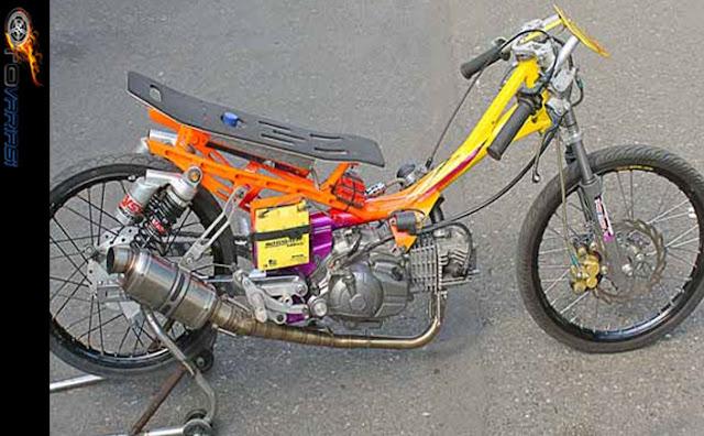 gambar motor drag jupiter z