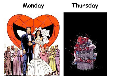 Spiderman Marriage Tragedy