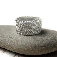 купить стильное женское кольцо 22 размера украшения из бисера цена