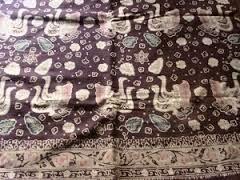 Batik Jambi Motif Angsa Duo