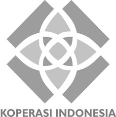 logo koperasi baru hitam putih