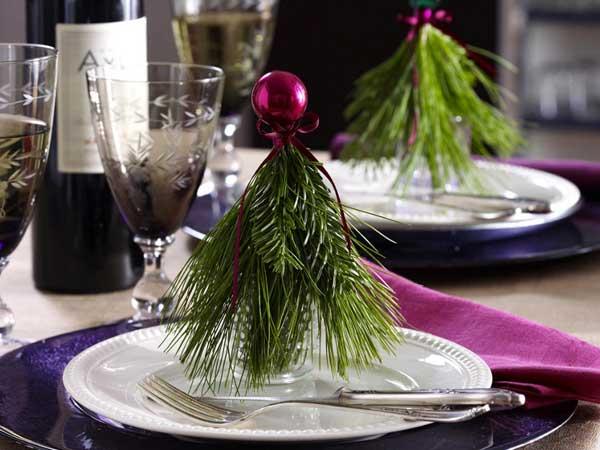 dolce vita weihnachts tisch deko ideen. Black Bedroom Furniture Sets. Home Design Ideas