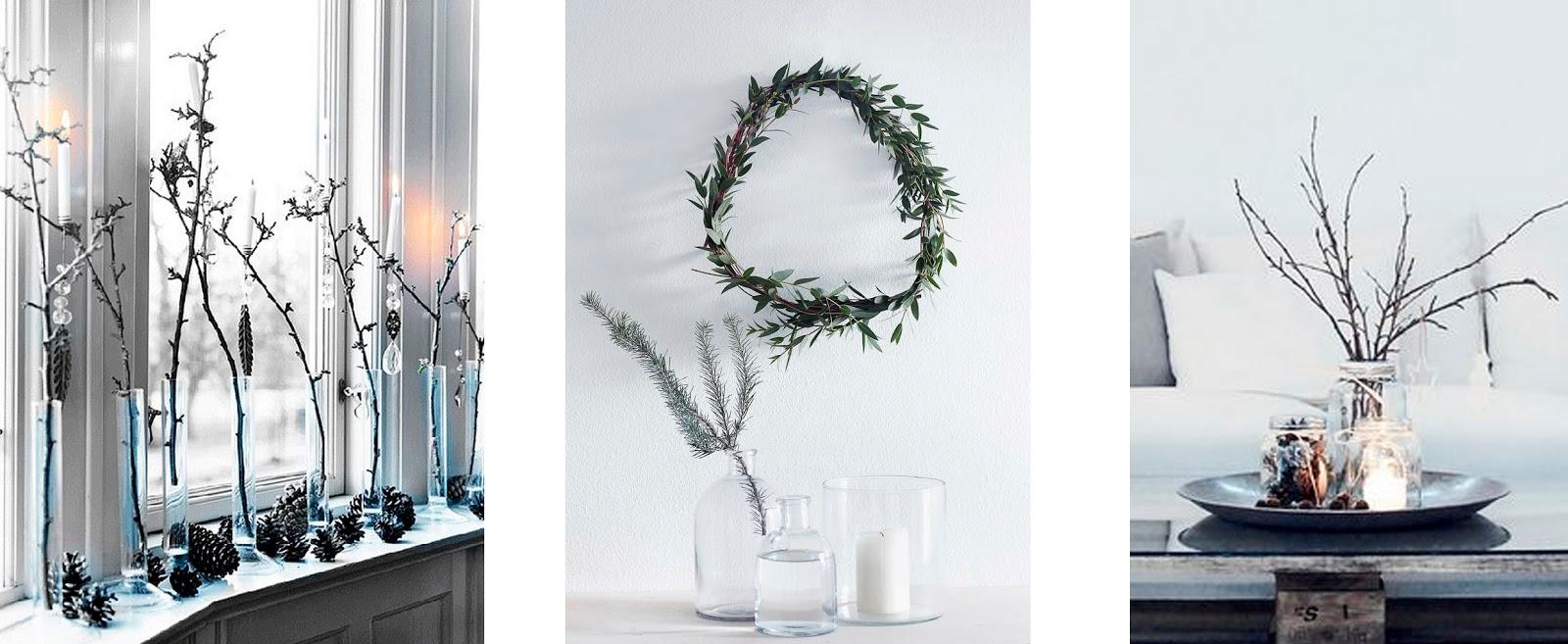20 ideas para decorar en navidad con ramas secas amigos - Ramas secas para decorar ...