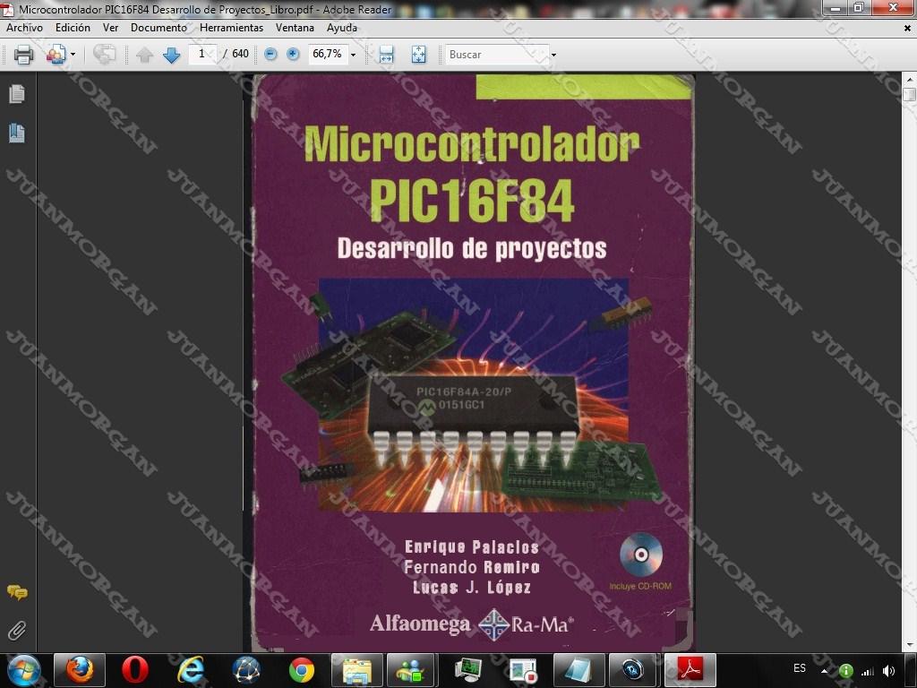 pic16f84a desarrollo de proyectos