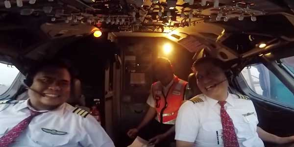 Video Penerbangan Terakhir Co-Pilot Harvino JT-610