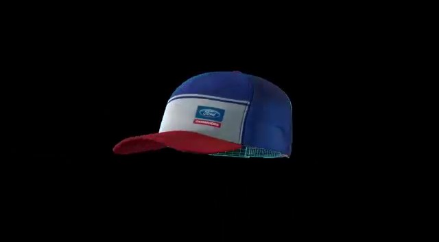 safe cap with blue and red in color