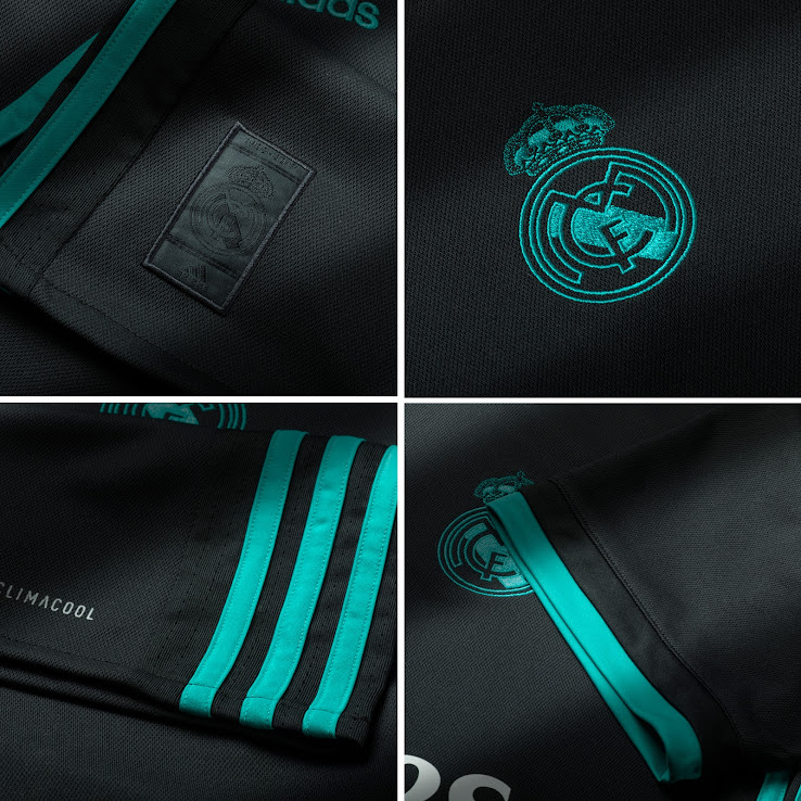 new concept 84539 a16d8 Real Madrid 17-18 Away Kit Released - Footy Headlines