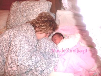 dormir com o bebê