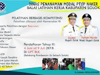 Info Pendaftaran Pelatihan Keterampilan di  BLK Solok.... Gratis !! || Cek Di sini....