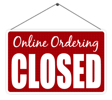 Online Ordering Close