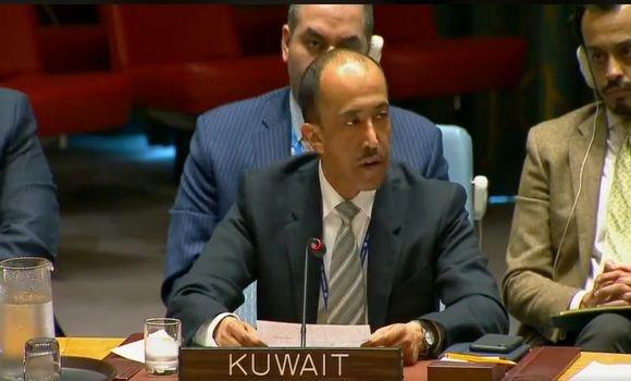 الكويت تعلن أمام مجلس الأمن عن دعمها لحق الشعب الصحراوي في تقرير المصير