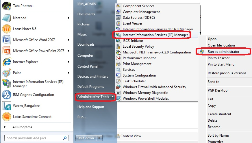 Sachchidanand Singh: Configure Microsoft IIS web server for