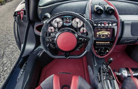 2017 Pagani Huayra Roadster Interior