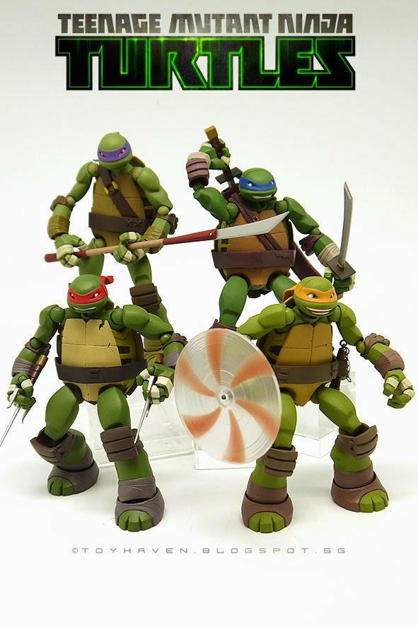 toyhaven: Kaiyodo Revoltech Nickelodeon Teenage Mutant ...Nickelodeon Ninja Turtles Toys