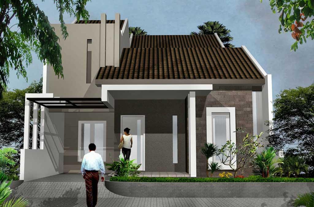 Teras Rumah Minimalis Type 45 1 Lantai