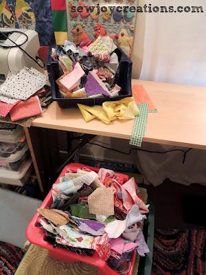 scraps bins