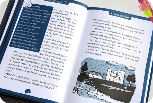 L'eau en ville - minipommes - éditions Le Pommier