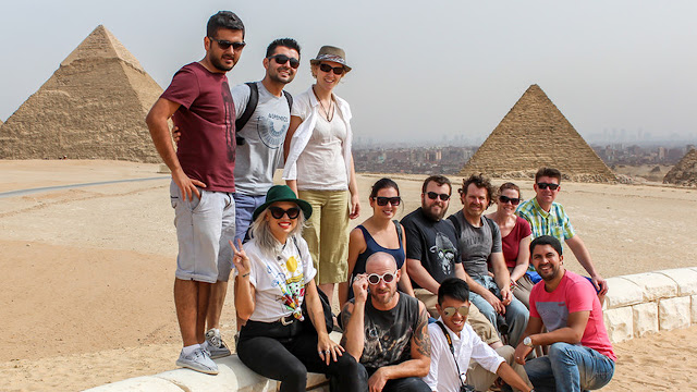 Giza Pyramids - Is Egypt Worth Visiting - www.tripsinegypt.com