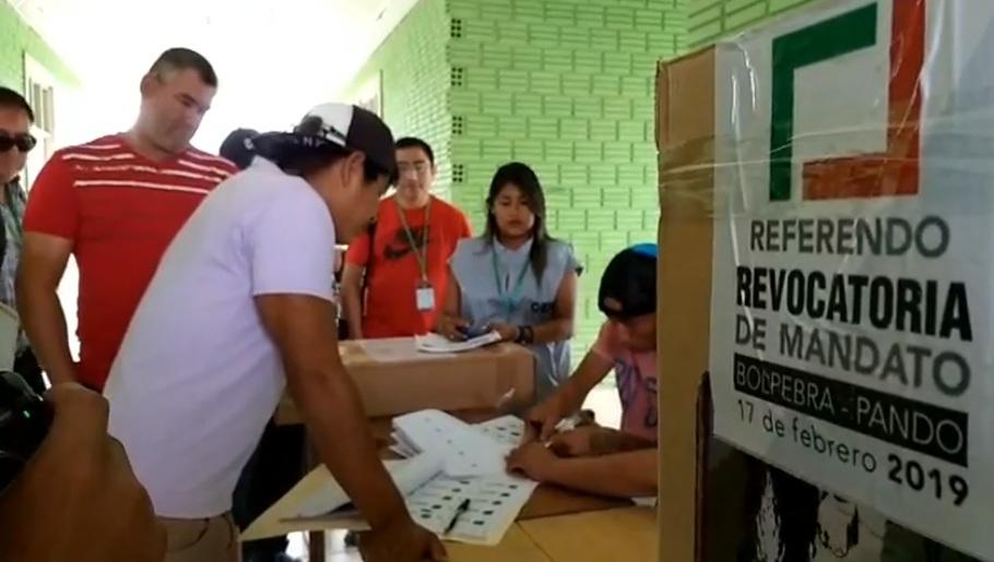 La escasa participación en el referendo favoreció al alcalde Hurtado / FACEBOOK KIKE NAVALA