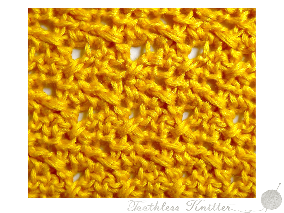 Textured Stitch: Breeze / Splot Ścisły: Bryza