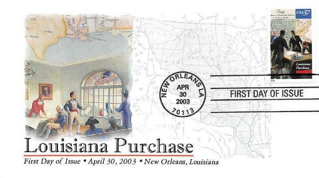 2003 37c Louisiana Purchase Scott 3782  FDC