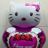 Balon Foil Hello Kitty I LOVE YOU (Medium)