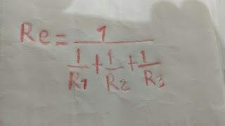 formula para circuito paralelo