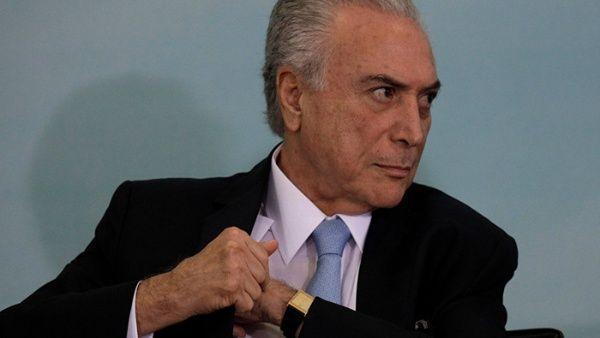 Michel Temer impulsa nueva reforma tributaria en Brasil