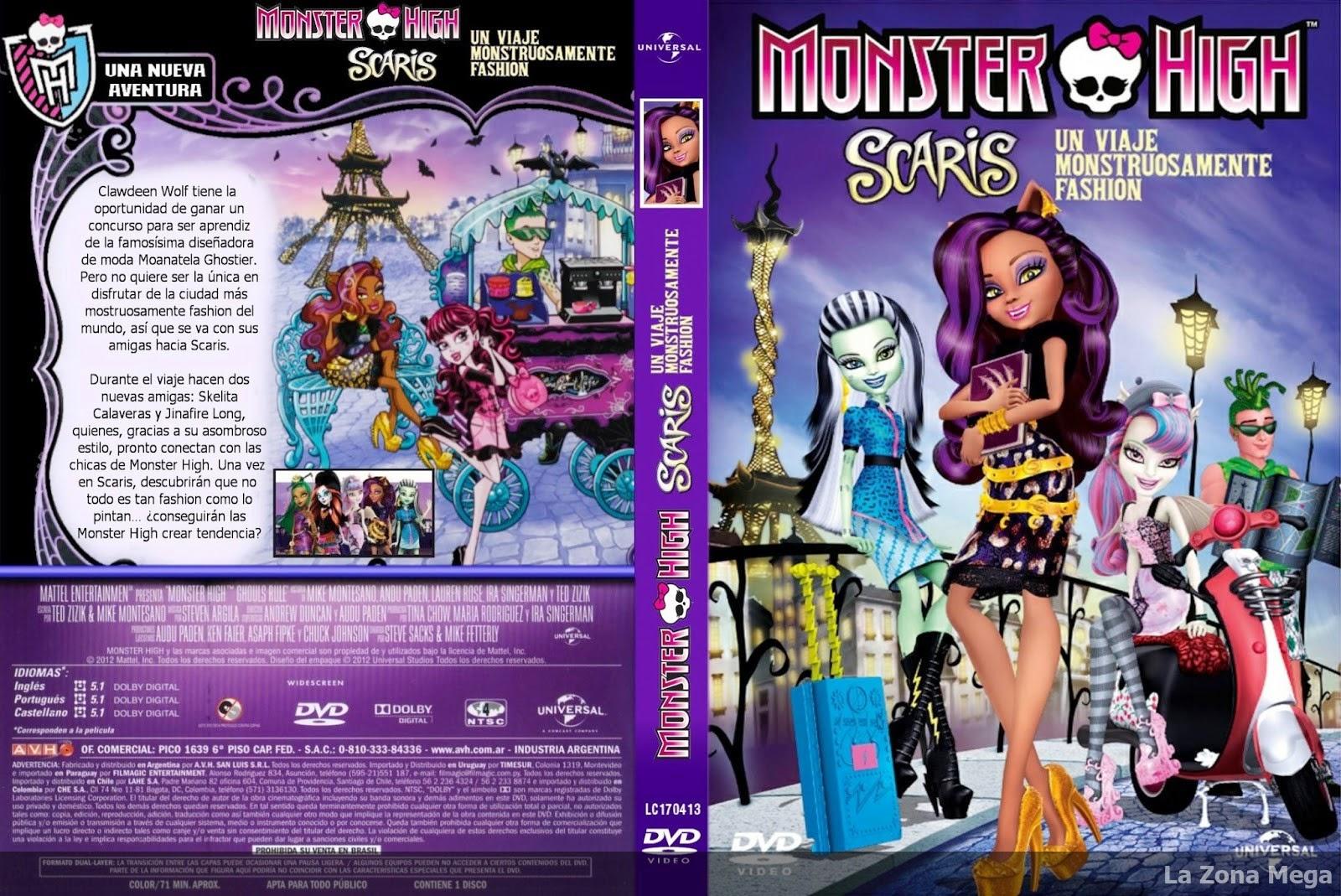 Monster High Un Viaje Monstruosamente Fashion Dvdrip