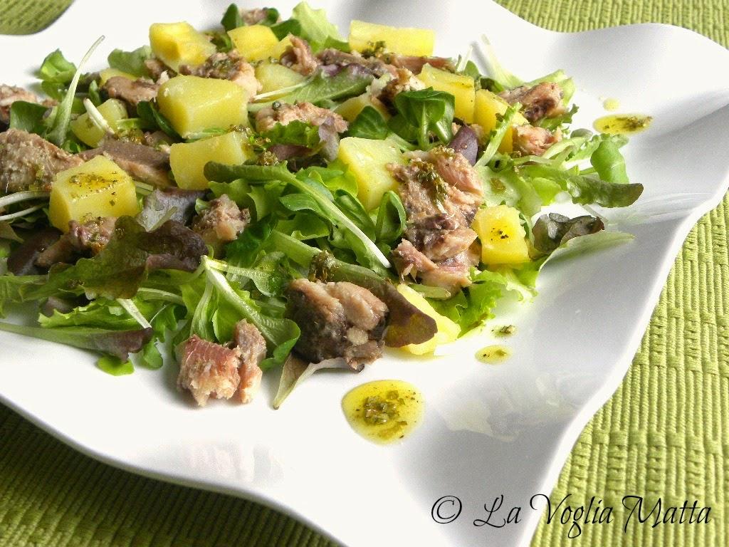 ricetta insalata di sgombro e patate
