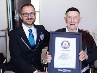 Polaco sobrevivente de Auschwitz é o homem mais velho do mundo