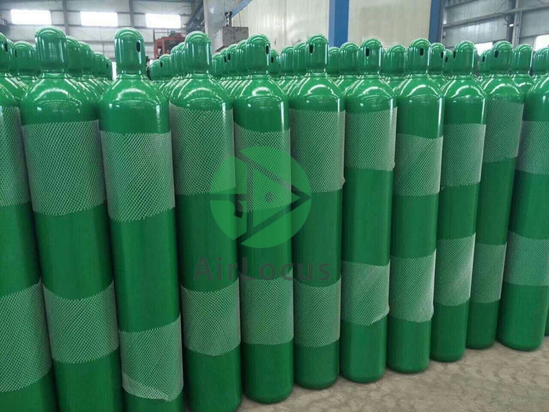 Gas Cylinders and Cryogenic Tanks: High pressure oxygen nitrogen