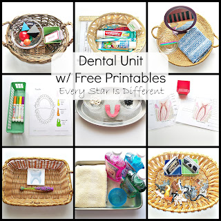 Dental Unit with Free Printables