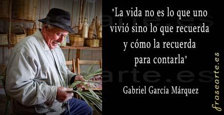 Gabriel García Márquez citas famosas