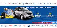 Logo Carrefour vincite smart : vinci prodotti P&G, Smart TV, macchine da caffè, Auto e molto altro