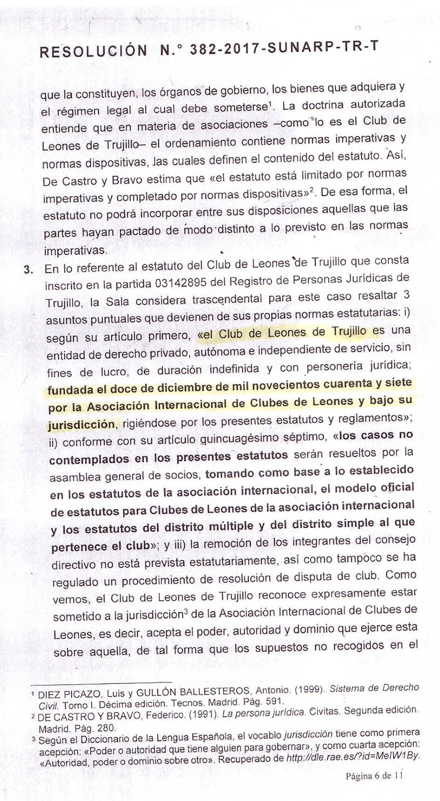 Tribunal Registral Da La Raz N A Actual Directiva De Club De  # Bienes Muebles Rae