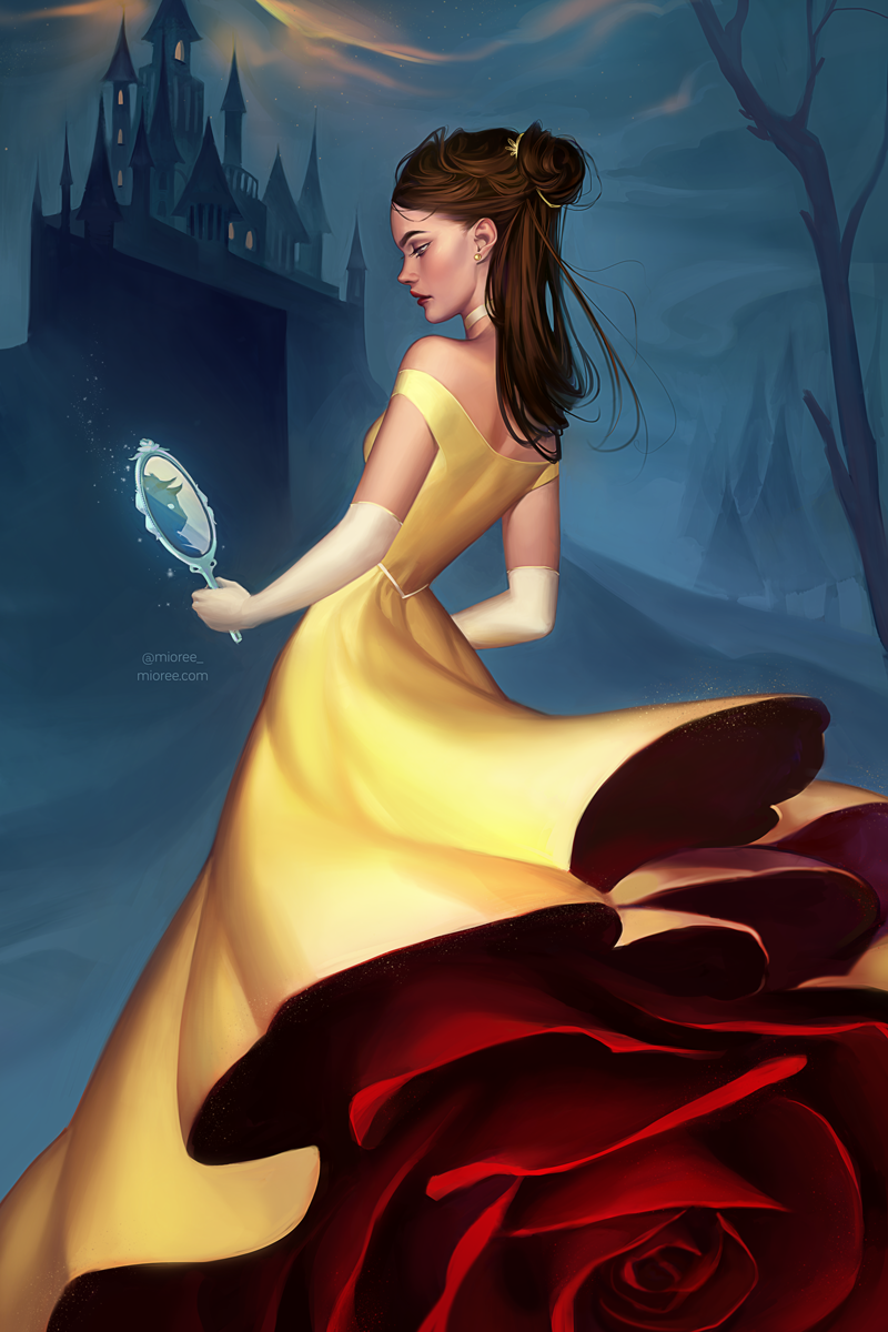 Images: A Collection Of Digital Art Featuring Disney Princess, Game Of Thrones, And Sailor Moon